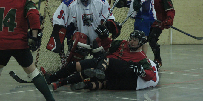 {REGIMENTAL BALL HOCKEY AT STRONG CONTENDER 2018}