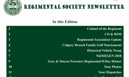 {Regimental Society Newsletter}